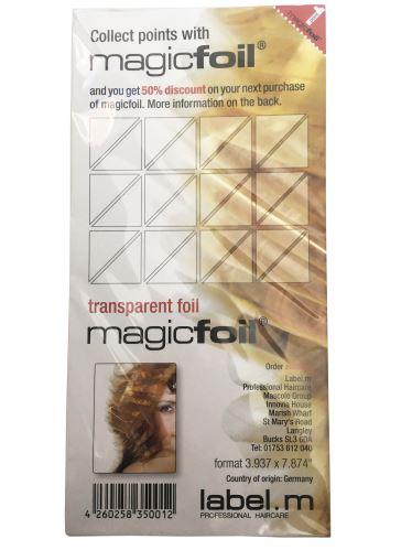 label.m Magic fólia 20cm x 500ks náplň do stojanu
