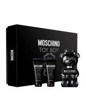 Moschino Toy Boy toaletná voda 50 ml + sprchový gél 50 ml + balzam po holení 50 ml darčeková sada Pre mužov