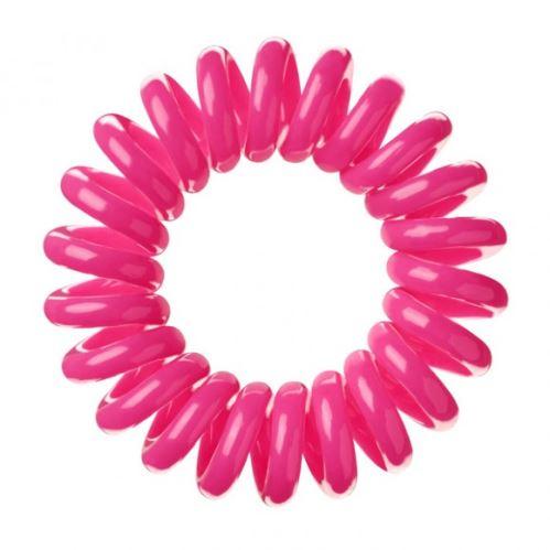 bIFULL Gumička do vlasov 3ks - ružová