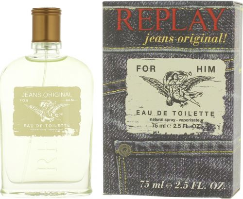 Replay Jeans Original For Him EDT 75 ml Pre mužov
