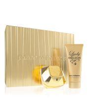 Paco Rabanne Lady Million parfumovaná voda 80 ml + telové mlieko 100 ml Pre ženy darčeková sada