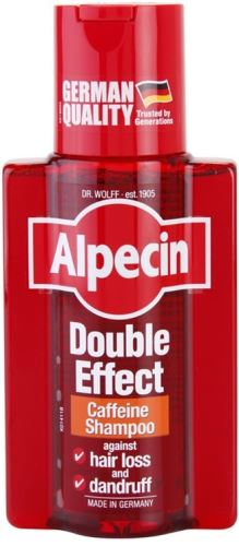 Alpecin Double Effect Caffeine Shampoo šampón 200 ml Pre mužov