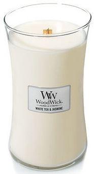 WoodWick White Tea & Jasmine vonná sviečka 609,5 g