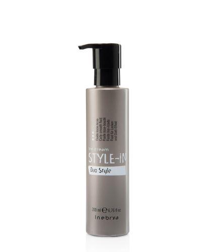Inebrya Duo Style uhladzujúci fluid pre kučeravé a vlnité vlasy 200 ml