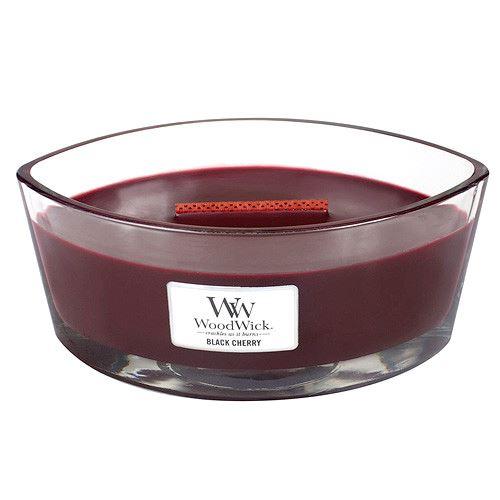 WoodWick Black Cherry vonná sviečka 453 g