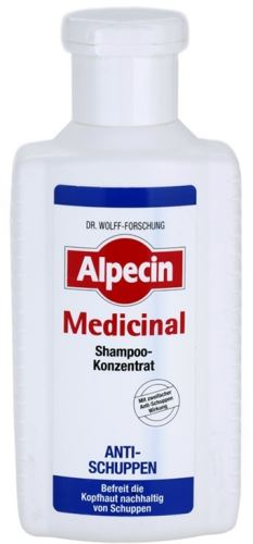 Alpecin Medicinal Shampoo Concentrate Anti-Dandruff šampón 200 ml Unisex