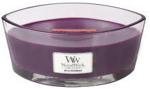 WoodWick Spiced Blackberry vonná sviečka s dreveným knôtom 453,6 g