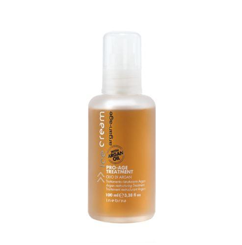 INEBRYA ARGAN-AGE Pro-Age Treatment olej na vlasy s arganem 100 ml Pre ženy