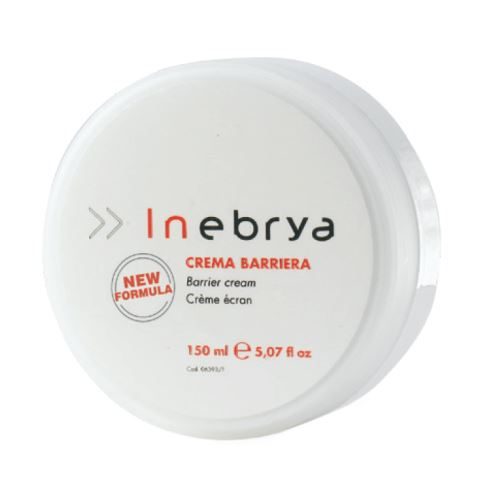 Inebrya Barrier Cream ochranný krém pokožky pri farbení vlasov 150 ml