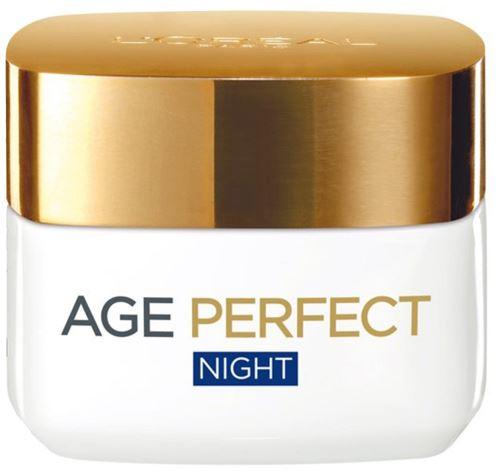 LOREAL AGE PERFECT Night Cream (všetky typy pleti) 50 ml