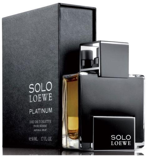 Loewe Solo Loewe Platinum EDT 50 ml Pre mužov