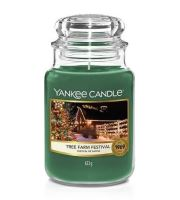 Yankee Candle Tree Farm Festival vonná sviečka 623 g