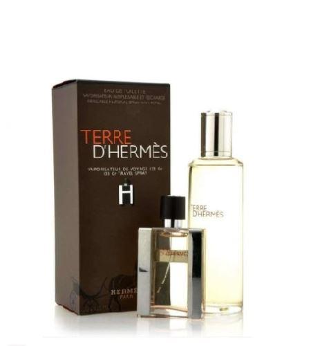 Hermes Terre d'Hermes EDT 30 ml + toaletní voda náplň 125 ml Pre mužov darčeková sada